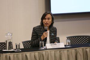 Cynthia Brizuela, Especialista en Educación Inclusiva de la Oficina Regional para América Latina y el Caribe del Fondo de las Naciones Unidad para la Infancia - UNICEF
