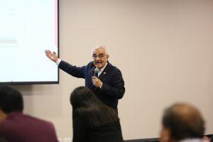 Director de Prevención y Control de la Discapacidad del Ministerio de Salud, Dr. Luis Miguel Leon García
