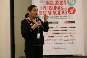 """Directora General del Instituto Nacional de Rehabilitación """"Dra. Adriana Rebaza Flores"""" Amistad Perú-Japón, Mc. Lily Pinguz Vergara"""